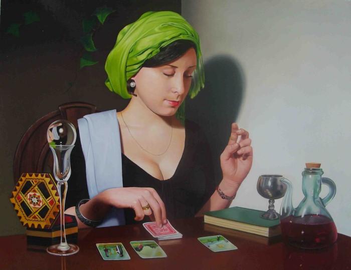 Элегантность в живописи. Michael de Bono 13