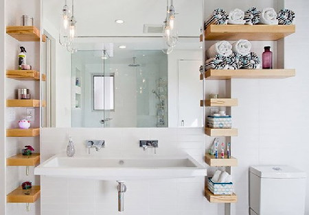 Mẫu thiết kế phòng tắm nhỏ, hiện đại