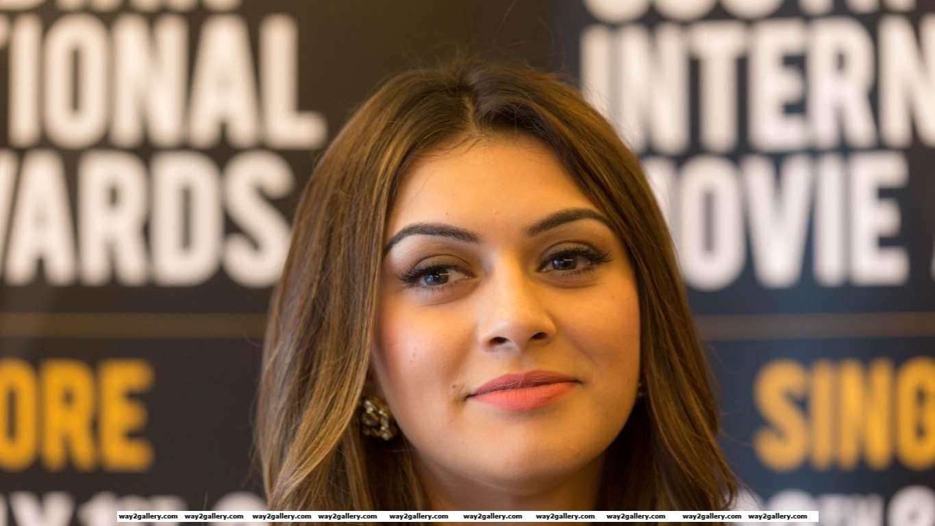 Hansika was most recently seen in Manithan and is awaiting the release of films such as Bogan and Vettai Mannan