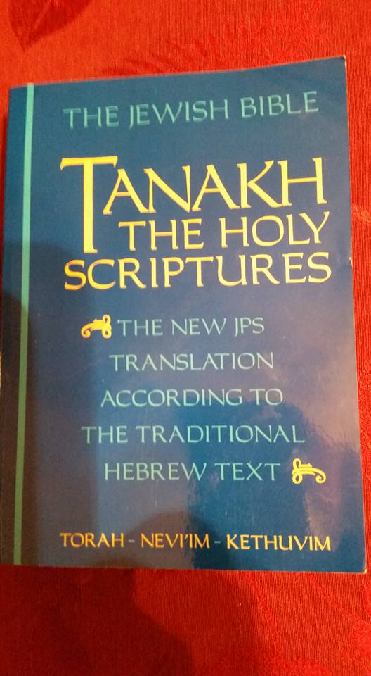 The TANAKH By Jewish Publican Society