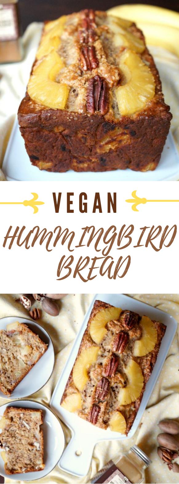VEGAN HUMMINGBIRD BREAD #vegan #cake