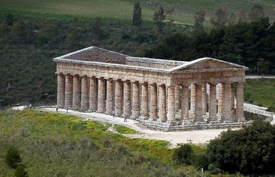Templo de Segesta. Sicilia