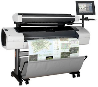 HP Designjet T1100 Driver Printer Download