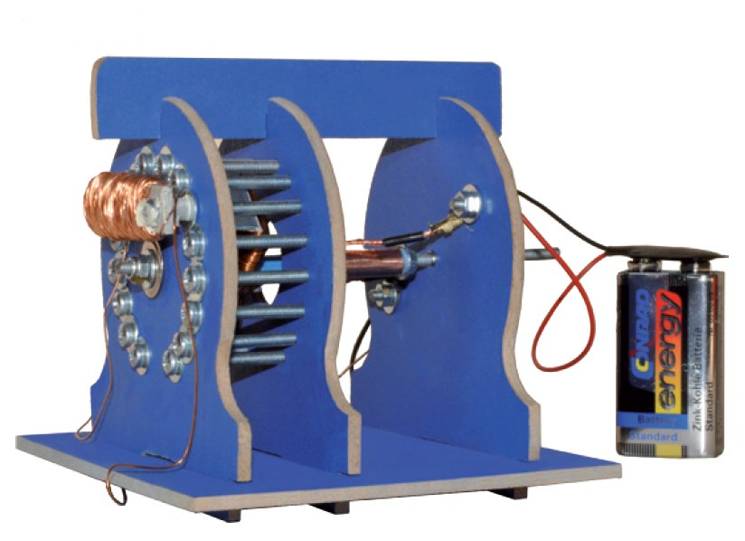 gutes lernspielzeug elektromagnetismus erleben spulen wickeln und einen elektromotor selber bauen. Black Bedroom Furniture Sets. Home Design Ideas
