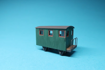 Festiniog brake van conversion from quarryman's coach