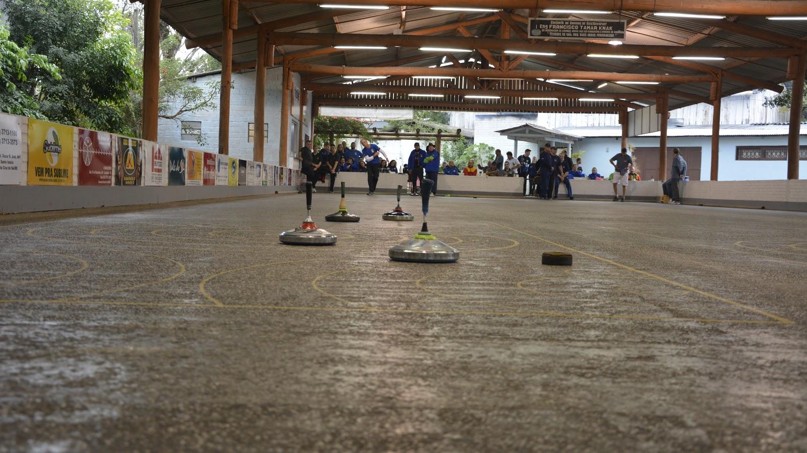 Centro 25 de Julho sedia etapa do Gauchão de Eisstocksport