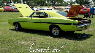 Lime Dodge Charger RT 440