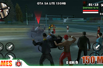 GTA LITE 150MB 100% Work Suport All GPU