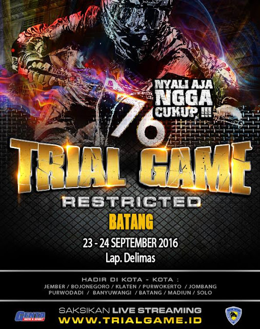 Event Batang | 23-24 September 2016 | Trial Game 2016 Batang