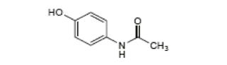 Parasetamol yakni obat analgesik dan antipiretik yang terkenal dan dipakai untuk meredak Parasetamol