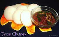 images of Onion Chutney Recipe / Vengaya Chutney Recipe / Ulli Chutney Recipe