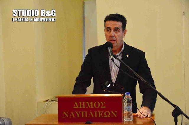 Σε ευρεία σύσκεψη για τη Βιώσιμη Αστική Ανάπτυξη συμμετείχε ο Δήμαρχος Ναυπλιέων Δ. Κωστούρος