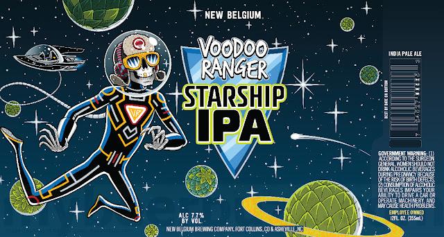 New Belgium Adding VooDoo Ranger Starship IPA
