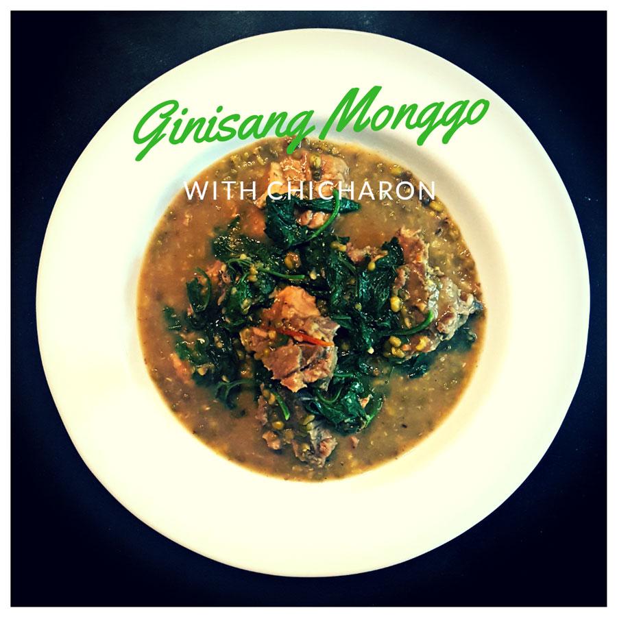 ginisang monggo with chicharon www.jeepneyrecipes.com