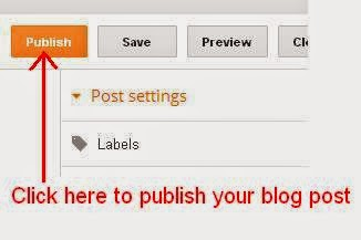 Publish your Post