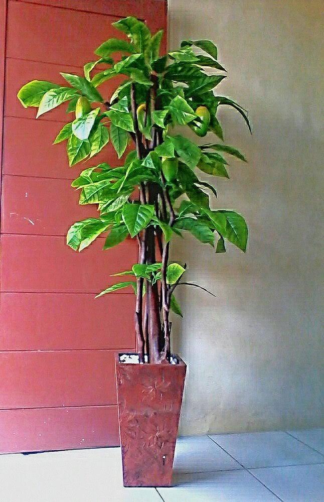 Bunga Pohon Plastik Pohon Buah Plastik Tinggi 15 Meter