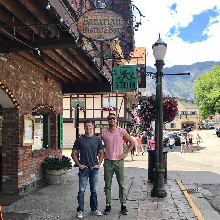 Leavenworth Washington, Bavarian Town