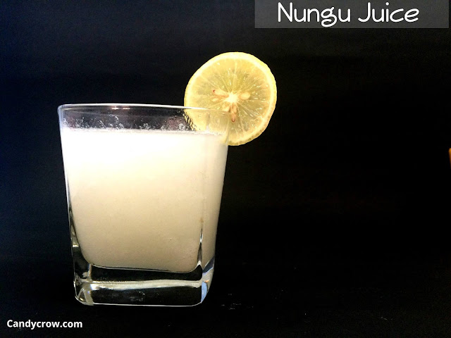 Nungu Juice / Ice Apple Juice Recipe