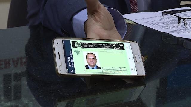 CNH digital (Foto: Reprodução/TV Globo)