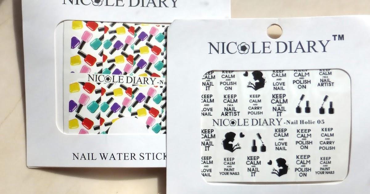 Новинки Nicole Diary: 3 лака и 2 водных слайдера для настоящих ...