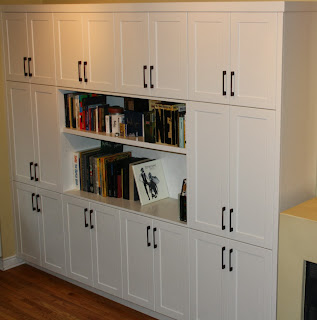White Wall Unit