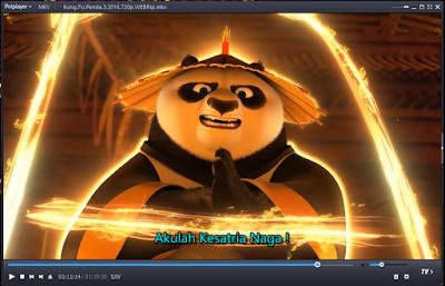 Screenshot Daum PotPlayer Terbaru