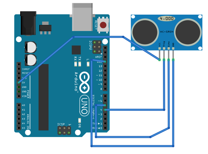 Arduino Interfacing With Ultrasonic Sensor (HC-SR04)