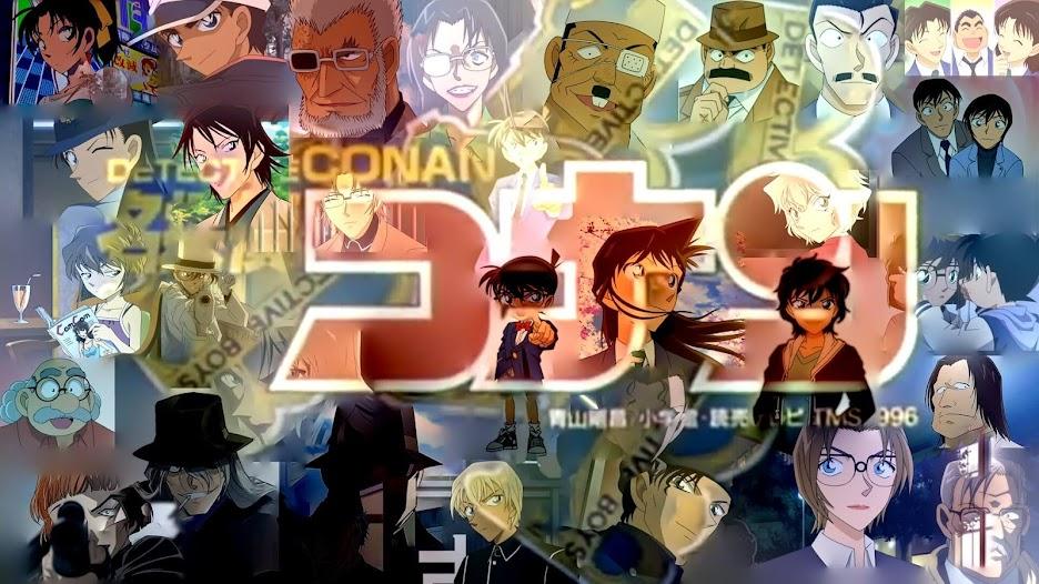 Detective Conan Important Episode List Character Banner