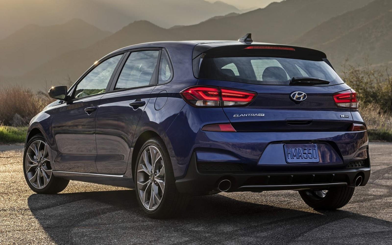 Novo Hyundai Elantra GT (i30) 2020 N Line: detalhes - EUA
