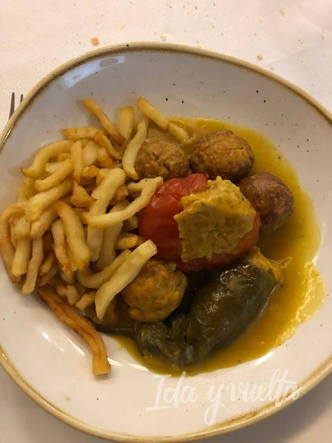 Comer en Antequera Arte de Cozina albóndigas