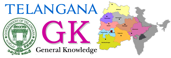 Telangana GK Objective Questions and Answers 2019