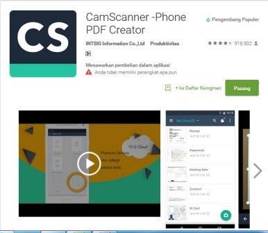 Cara Mudah Scan Dokumen Dengan Android Tanpa Printer