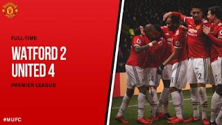 Watford vs Manchester United 2-4 Video Gol & Highlights