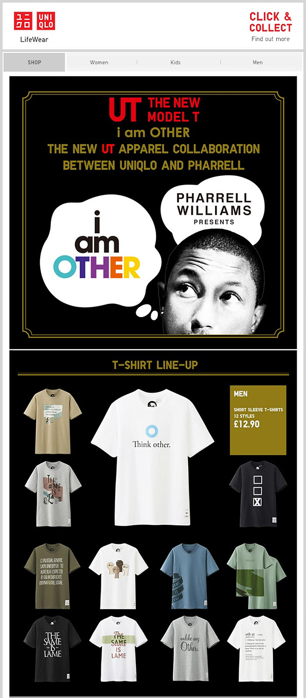 UNIQLO & Pharrell Williams