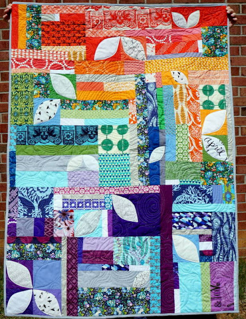 http://www.quiltyhabit.com/2015/04/soar-finished-orange-peel-quilt.html