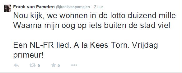Belofte Frank van Pamelen Kees Torn Frans-Nederlands