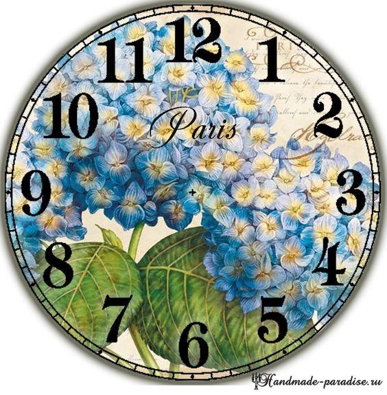 Циферблаты часов. 50 шаблонов для распечатки (9)