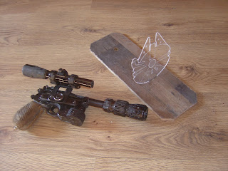 star wars pistolet arme blaster