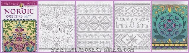 kleurboek nordic designs