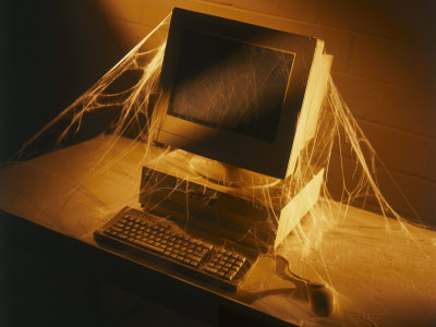 Image result for cobwebs on screen
