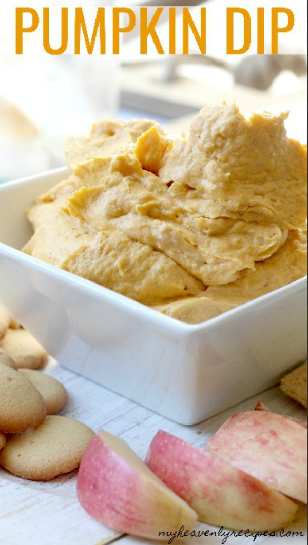 Pumpkin Dip from My Heavenly Recipes