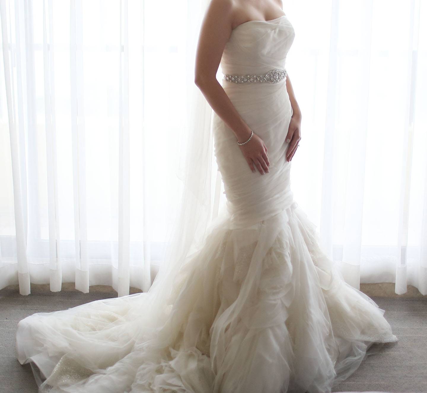 3069ba5bcd9e Wandering Princess: Pre-loved Vera Wang Gemma Wedding Gown For Sale ...