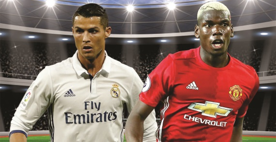 Real Madrid and Manchester United go head to head in the UEFA Super Cup