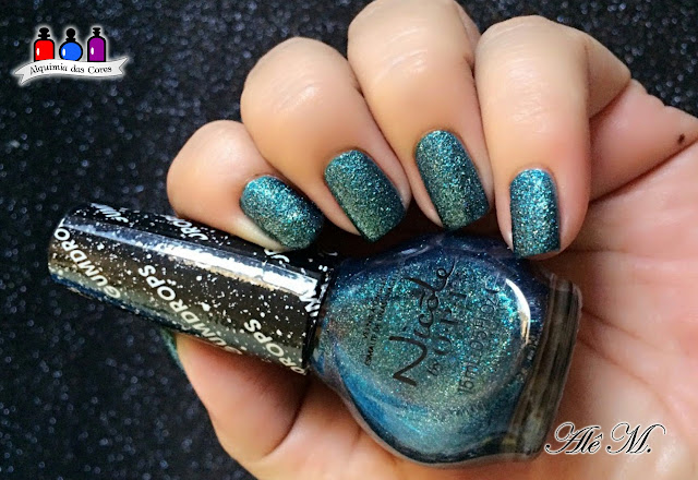 OPI,Nicole by OPI, Gumdrop, That's What I Mint, Teal, Alê M.