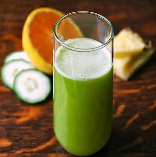 Cara Diet Alami dan Murah Dengan Jus Jeruk dan Timun