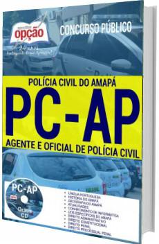 Apostila PC-AP 2017 Agente e Oficial de Polícia Civil