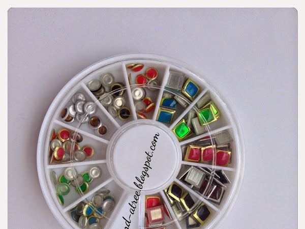 [Review] Nail Art Decoration Wheel Dazzling Rhinestone Stud