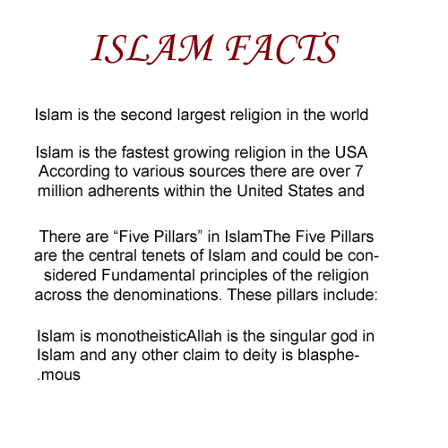 islam facts pictures