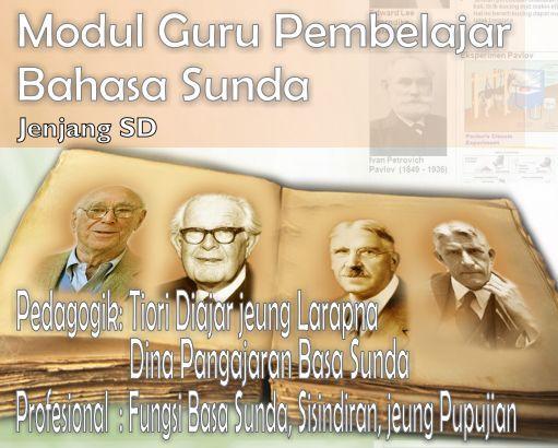 gambar modul guru pembelajar SD Bahasa Sunda