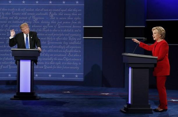 """Debat terakhir juga dimenangkan Hillary, Trump di Cap """"boneka Putin"""""""